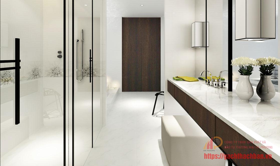 23 mẫu gạch ốp tường Thạch Bàn cho nhà tắm - phòng vệ sinh đẹp & Độc có giá tốt